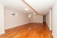 RARE OCCURENCE-NEWLY RENOVATED 3 BEDROOM BASEMENT APT