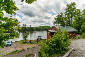 YOUR OWN LAKEFRONT PROPERTY ONSIDE LAKE DU BARRAGE WITH MUTI OPT