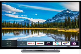"""Toshiba 32"""" Smart TV (Delivery available)"""