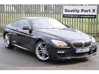 2012 BMW 6 Series 3.0 640d M Sport Coupe Auto 2dr