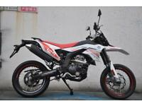 FB MONDIAL SMX125 SUPERMOTO WITH 2 YEARS PARTS AND LABOUR WARRANTY