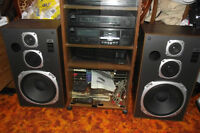 componet  stereo system