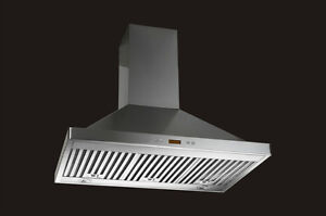 WALL MOUNT RANGE HOOD - CHIMNEY STYLE