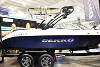 New Coast Marine in Saskatoon has Gekko Wake Surfing Boats!