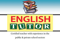 English Tutor - Certified Teacher with Experience