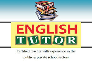 English Tutor - Certified Teacher with Experience West Island Greater Montréal image 1