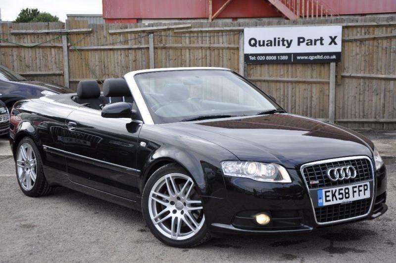 2009 audi a4 cabriolet 2 0 tfsi s line special edition cabriolet multitronic 2dr in wembley. Black Bedroom Furniture Sets. Home Design Ideas