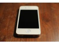 White iPhone 4, fully working good condition