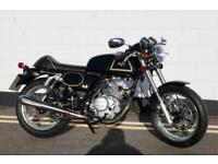 2018 AJS Cafe Racer 125cc - 35 Miles From NEW !
