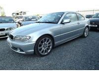 "2003 E46 BMW 330 CI SE AUTO COUPE 232 BHP 6 CYLINDER FULL LEATHER 120K FSH 18"" M"