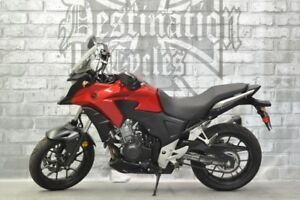 2014 Honda CB500X ABS - Brand new tires, Low km!!