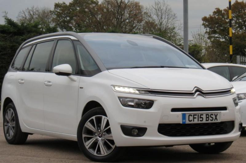citroen c4 picasso 1 6 grand bluehdi exclusive diesel 2015 15 white 7 str in leicester. Black Bedroom Furniture Sets. Home Design Ideas