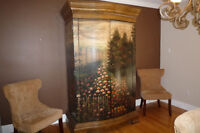 Hand Painted Hutch