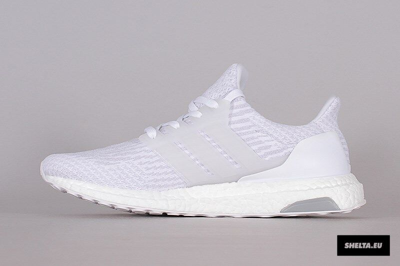 b63f766711801 Adidas Ultra Boost 3.0 Triple White Size 10. BA8841 NMD Yeezy PK