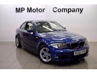 2008 58 BMW 1 SERIES 2.0 120D M SPORT 2D 6SP AUTO 175 BHP DIESEL SPORTS COUPE,