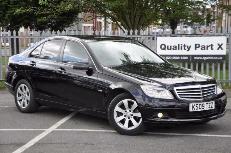 2009 mercedes benz c class 1 6 c180 blueefficiency. Black Bedroom Furniture Sets. Home Design Ideas