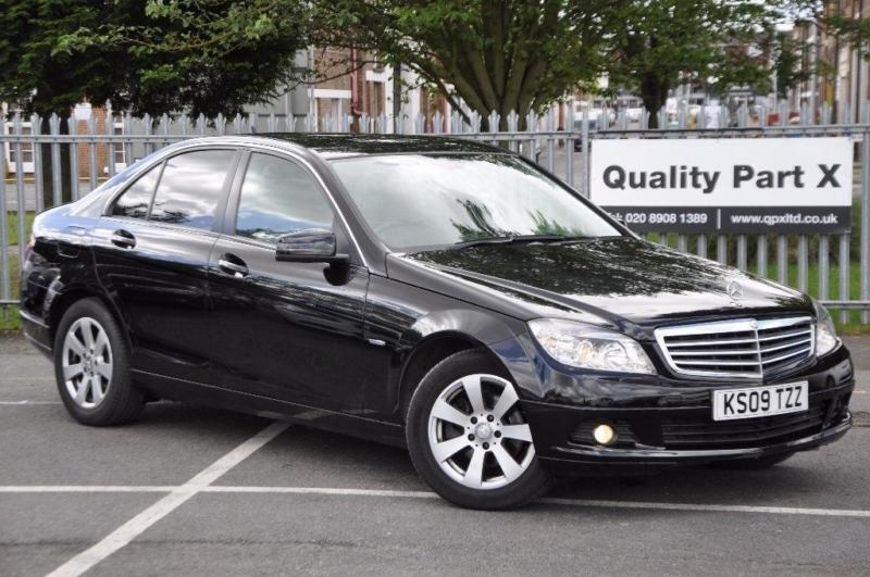 2009 mercedes benz c class 1 6 c180 blueefficiency kompressor sport 4dr in harrow london. Black Bedroom Furniture Sets. Home Design Ideas