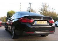 BMW 4 SERIES 2.0 420D M SPORT 2D 181 BHP DIESEL 2014/ 64 REG BLACK