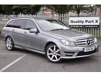 2011 Mercedes-Benz C Class 2.1 C200 CDI BlueEFFICIENCY Sport 7G-Tronic 5dr
