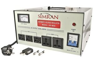 Simran Voltage Regulator - Model AR5000
