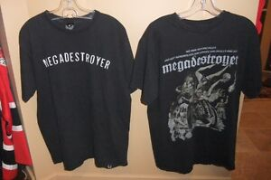 2 Biker T-shirts - Megadestroyer