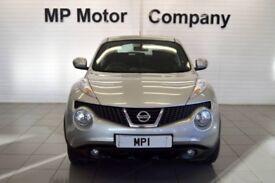 2012 62 NISSAN JUKE 1.6 ACENTA 5D AUTO 117 BHP CVT AUTOMATIC HATCH, 18-000M SH