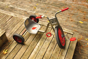 'INDUSTRIAL' HAND MADE TRICYCLE.....VINTAGE