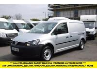 2014 VOLKSWAGEN CADDY MAXI C20 TDI STARTLINE IN SILVER WITH FULL VW SERVICE HIST