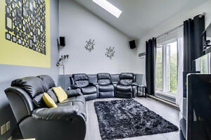 Nice split levels, living room with cathedral ceiling. To see! Gatineau Ottawa / Gatineau Area image 7