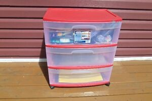 Sterlite 3 Drawer Storage cart--great for clothes, toys, etc!