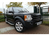 2007 Land Rover Discovery 3 2.7 TDV6 HSE AUTO TOP SPEC 7 SEAT 4X4 83K LOW MILES