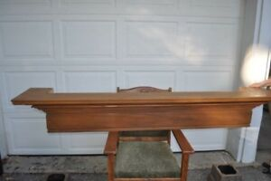 SOLID WOOD MANTEL - Beautiful and Great Condition