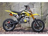 BRAND NEW PIT Bike 2016 Mini ATV Motor Bike Scrambler 49cc 50 cc PERFECT XMAS PRESENT 50cc