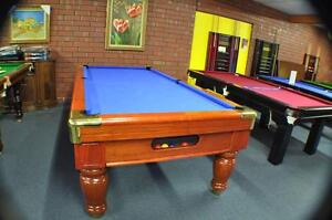 POOL TABLE Oxford 8ft ball return pool table Gepps Cross Port Adelaide Area Preview
