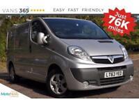 Vauxhall Vivaro 2700 CDTI SPORTIVE AIR CON ALLOYS
