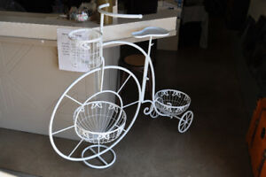 planters- Bike and a ferris wheel (not pict)