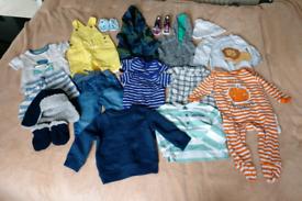 Bundle of boys clothes 6-9 months