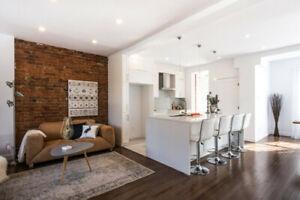 Magnifique maison sur deux étages clé en main à Westmount