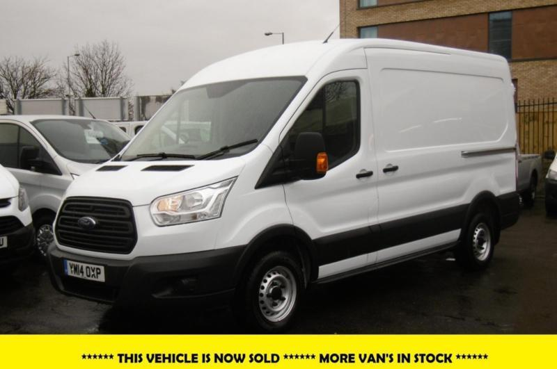 2014 ford transit l2h2 mwb diesel van with only miles 6 speed 1 owner ful in kingston. Black Bedroom Furniture Sets. Home Design Ideas