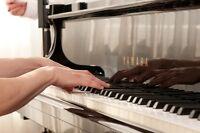 Cours de piano en privé