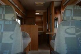 Autotrail Dakota FIAT 4 BERTH 2 TRAVEL SEAT MOTORHOME