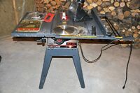 table saw and accessories