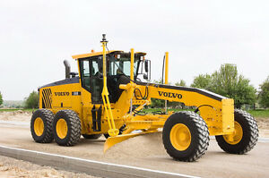 MOTOR GRADER Volvo G940 FOR RENT with or without Operator Edmonton Edmonton Area image 2