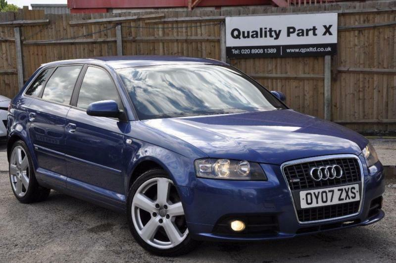 2007 audi a3 2 0 tdi s line sportback s tronic 5dr in wembley london gumtree. Black Bedroom Furniture Sets. Home Design Ideas