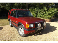 1999 V Land Rover Discovery TD5 GS AUTOMATIC 2.5 DIESEL 4X4 FSH RELIABLE TOWCAR