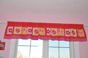 window treatment girl room