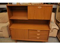 Xmas SALE NOW ON!! Retro Schreiber Sideboard With Drinks Bureau - Can Deliver For £19