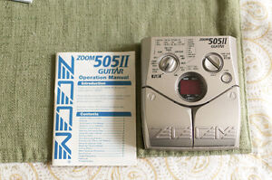 Zoom 505 II Guitar Effects Pedal