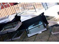 """Aquarium 4ft fish tank 4 ft 120x40x50 cm ( aprox 48""""x16""""x20"""" ) LxWxH 240 L 8 mm glass ! NEW"""