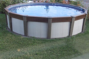 DELUXE ABOVE GROUND POOL